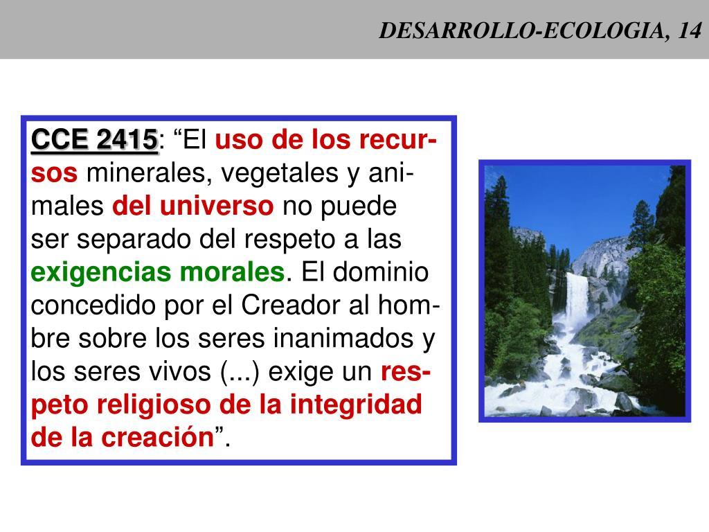 DESARROLLO-ECOLOGIA, 14