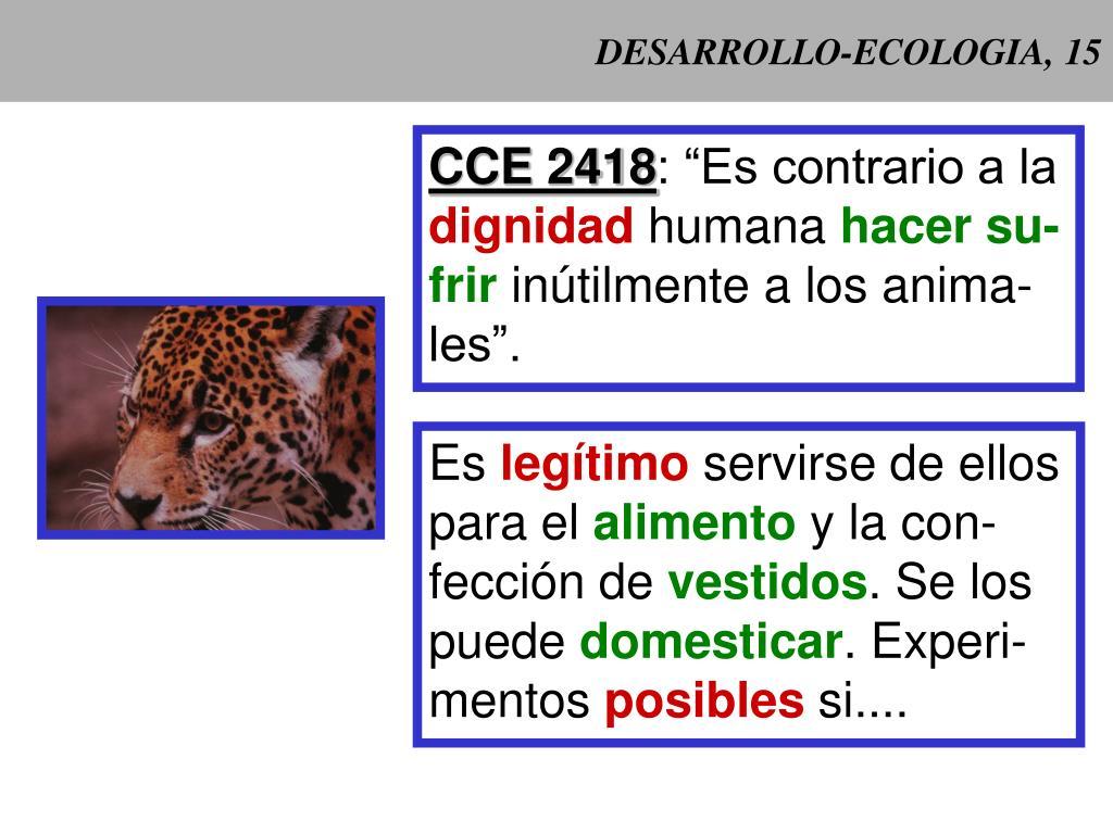 DESARROLLO-ECOLOGIA, 15