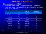 ams other applications