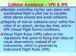 collision avoidance vfr ifr