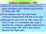 collision avoidance vfr