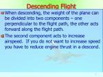 descending flight