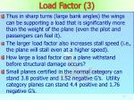load factor 3
