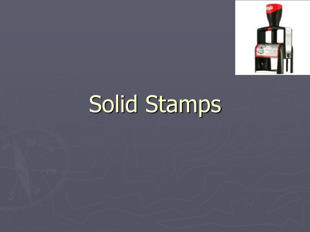 solid stamps l.