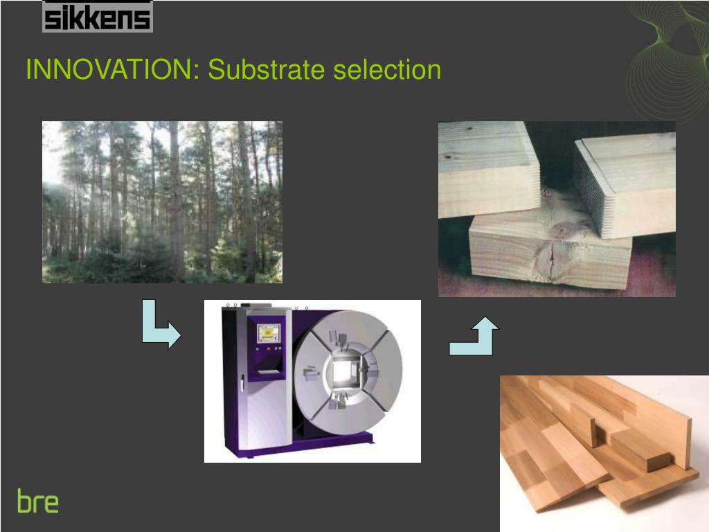 INNOVATION: Substrate selection