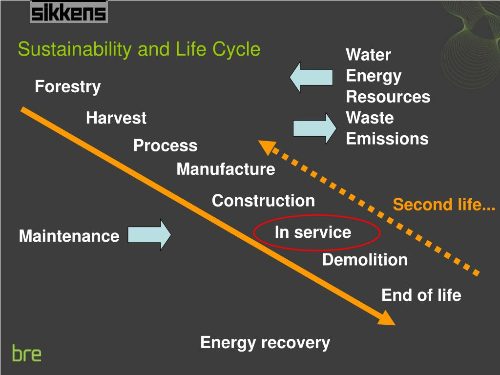 Sustainability and Life Cycle
