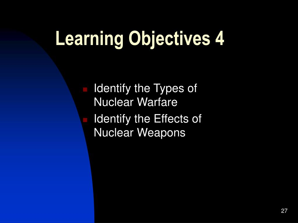 Learning Objectives 4
