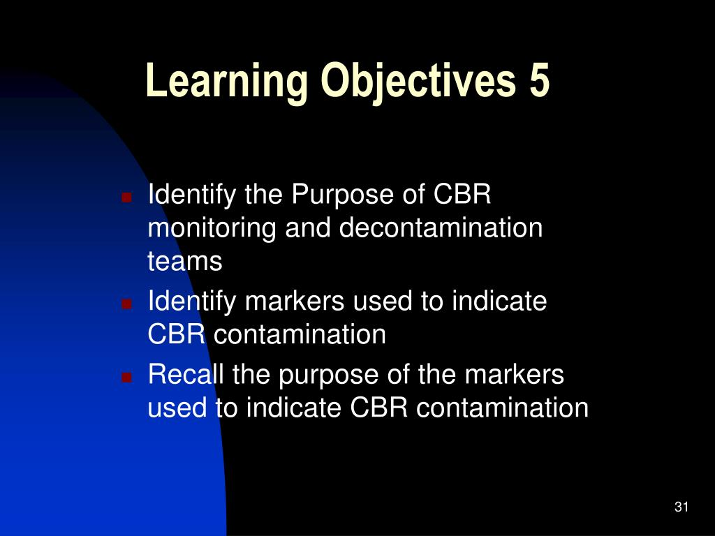 Learning Objectives 5