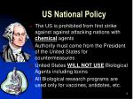 us national policy