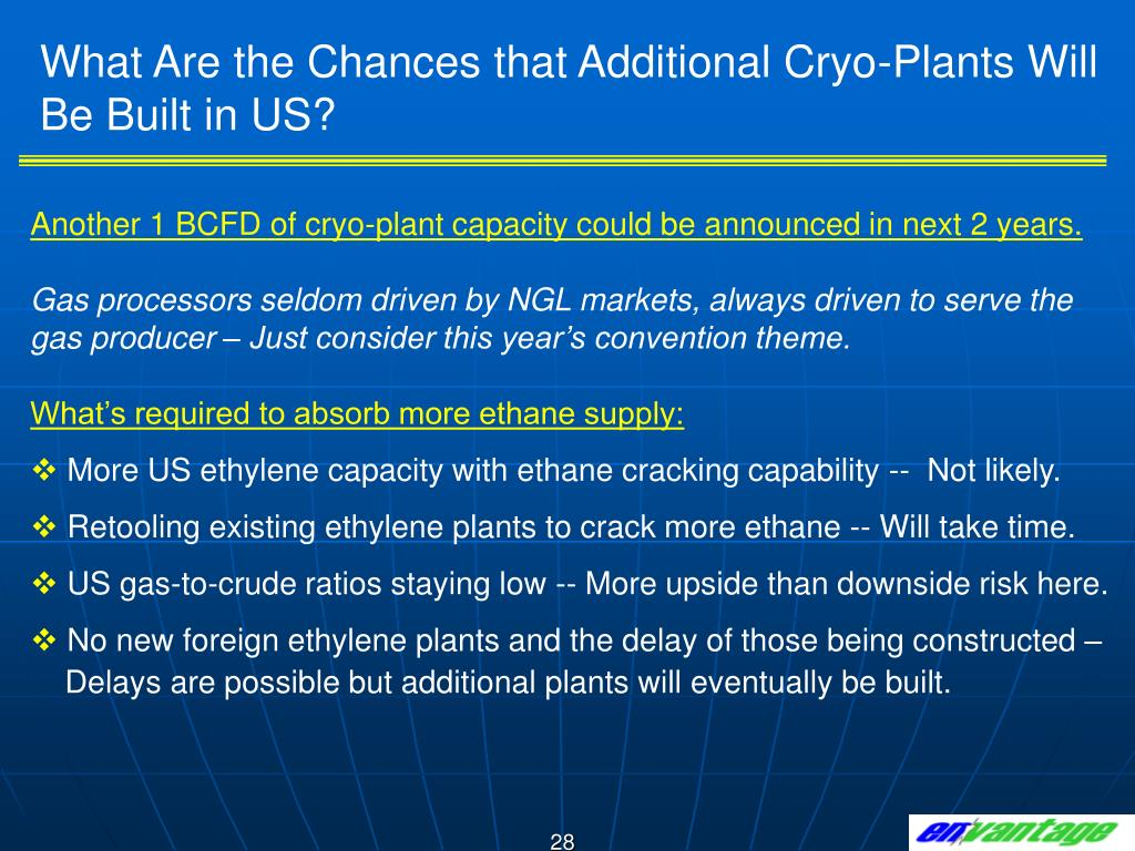 What Are the Chances that Additional Cryo-Plants Will Be Built in US?