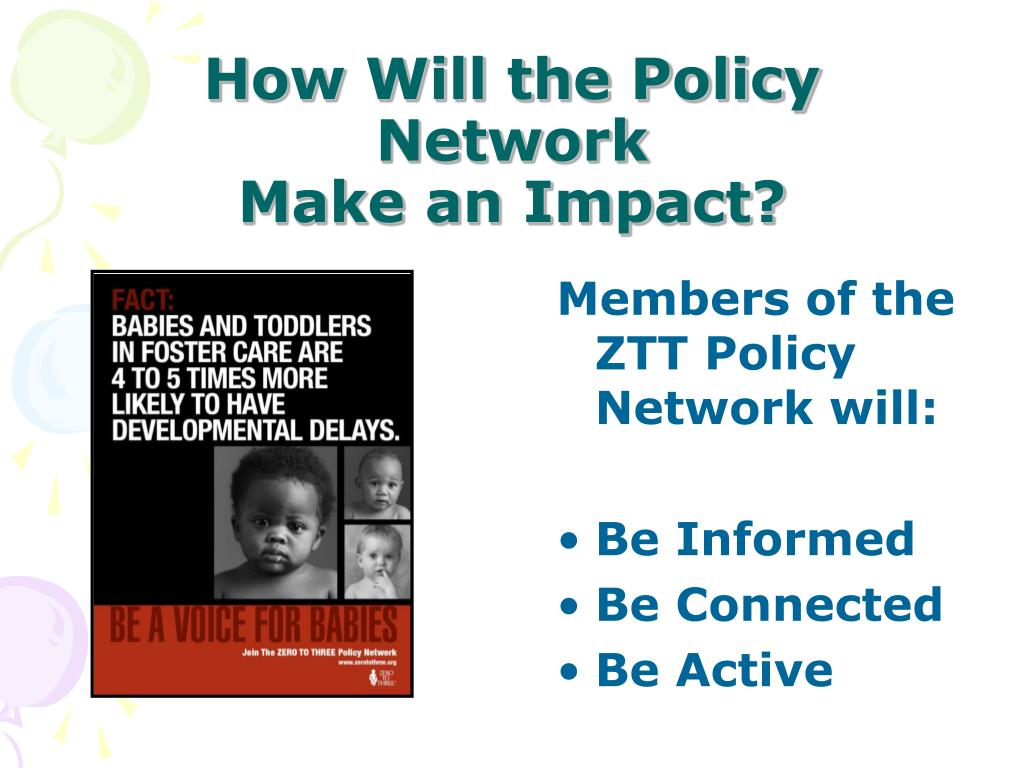 How Will the Policy Network