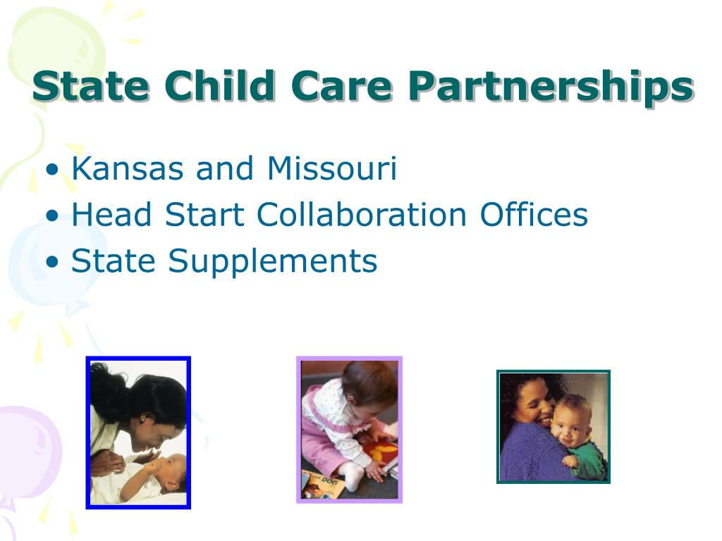 State Child Care Partnerships