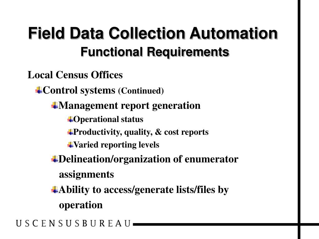 Field Data Collection Automation