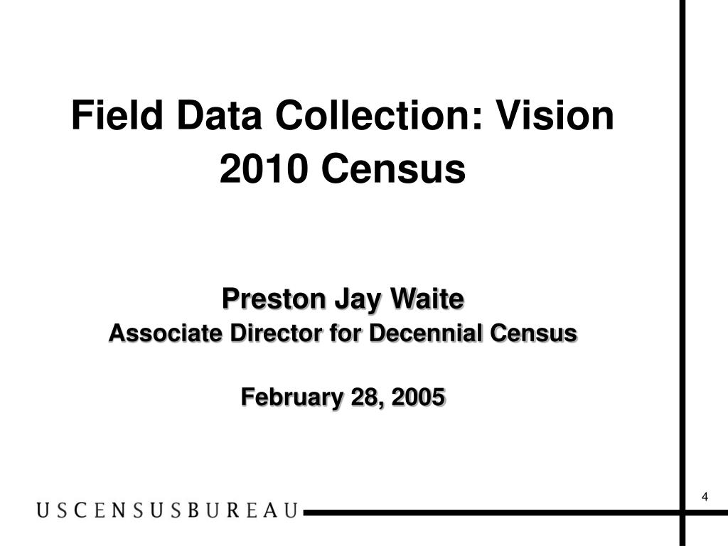 Field Data Collection: Vision