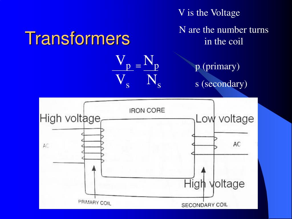 V is the Voltage