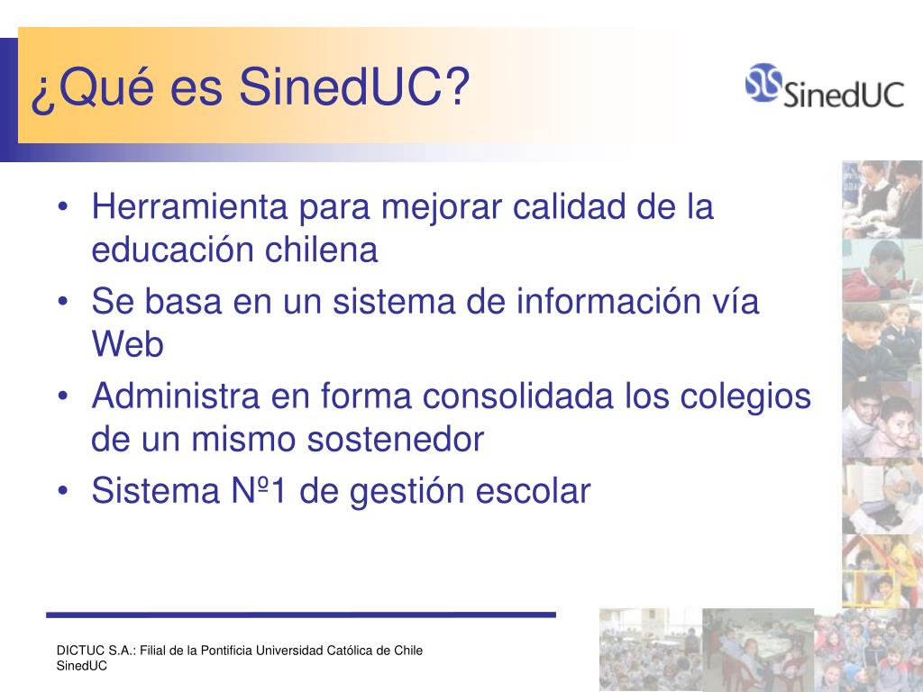 ¿Qué es SinedUC?
