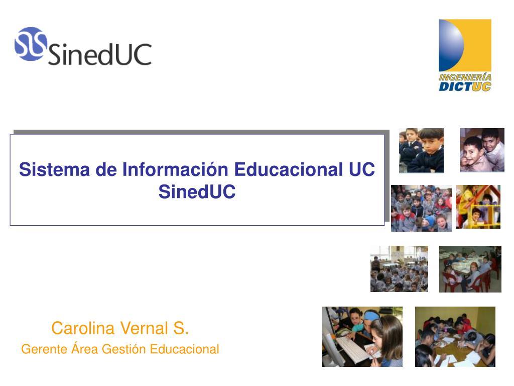 Sistema de Información Educacional UC