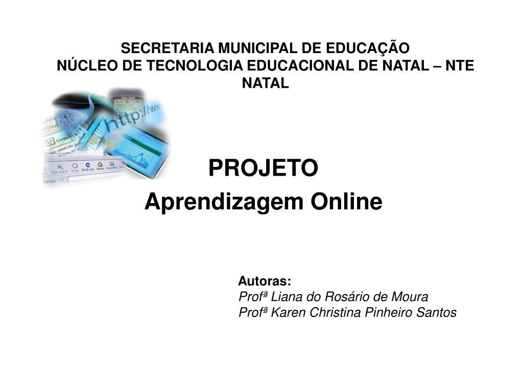 secretaria municipal de educa o n cleo de tecnologia educacional de natal nte natal l.
