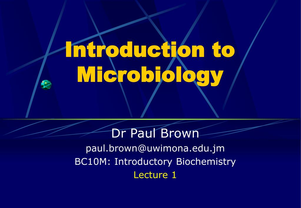 Microbiology ppt