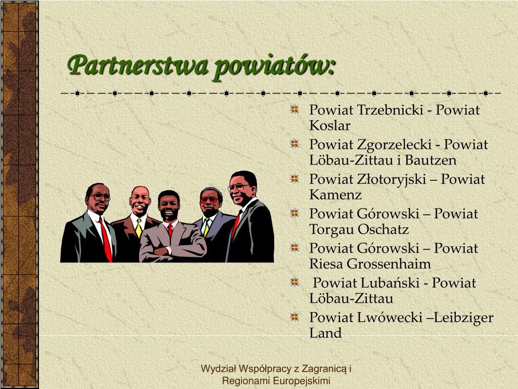 Partnerstwa powiatów: