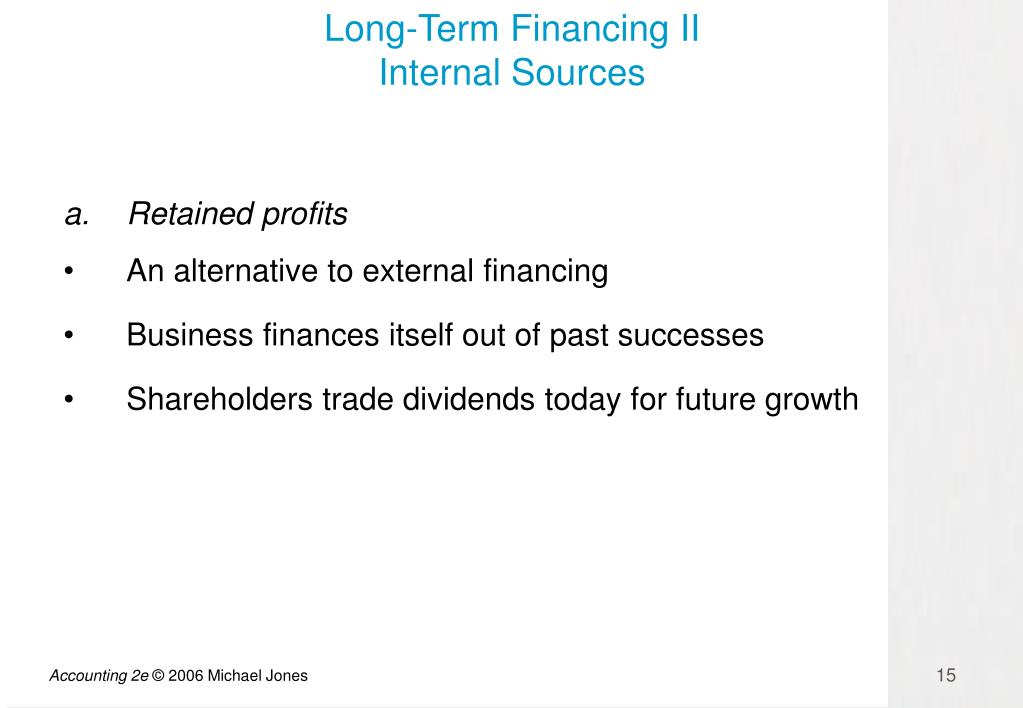Long-Term Financing II
