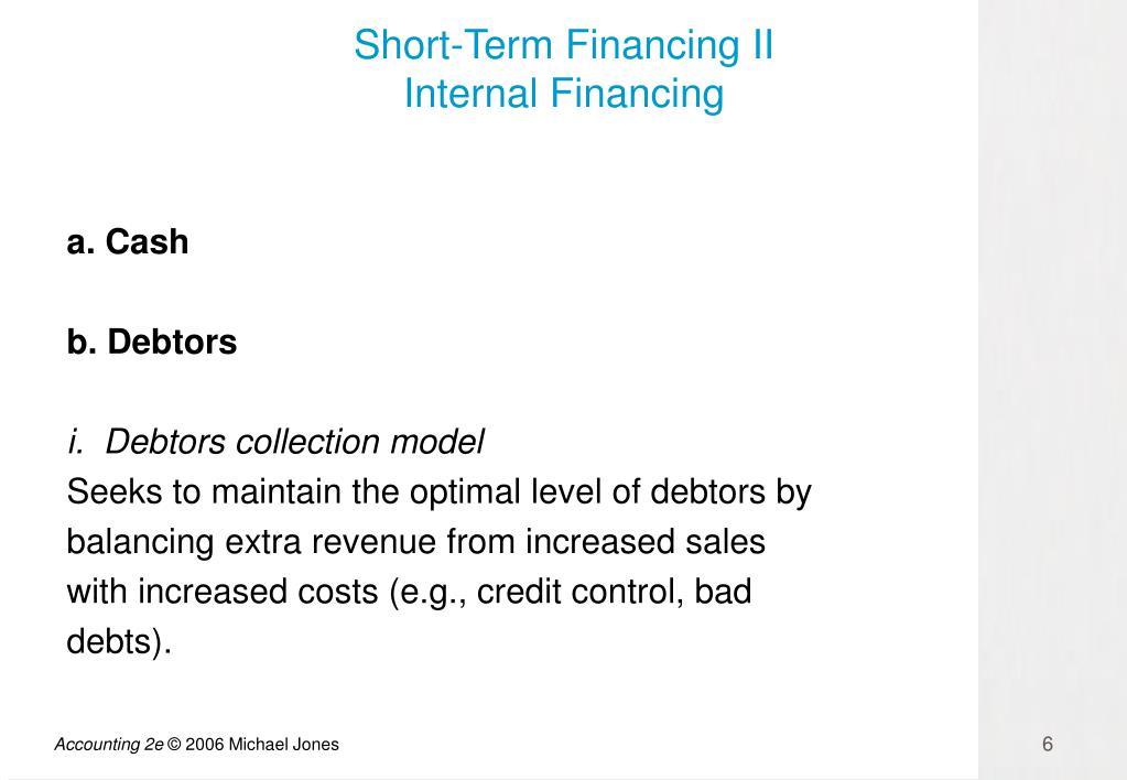 Short-Term Financing II