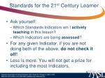 standards for the 21 st century learner68