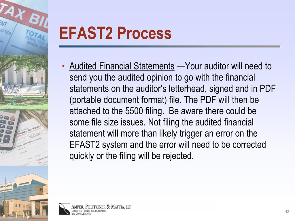EFAST2 Process