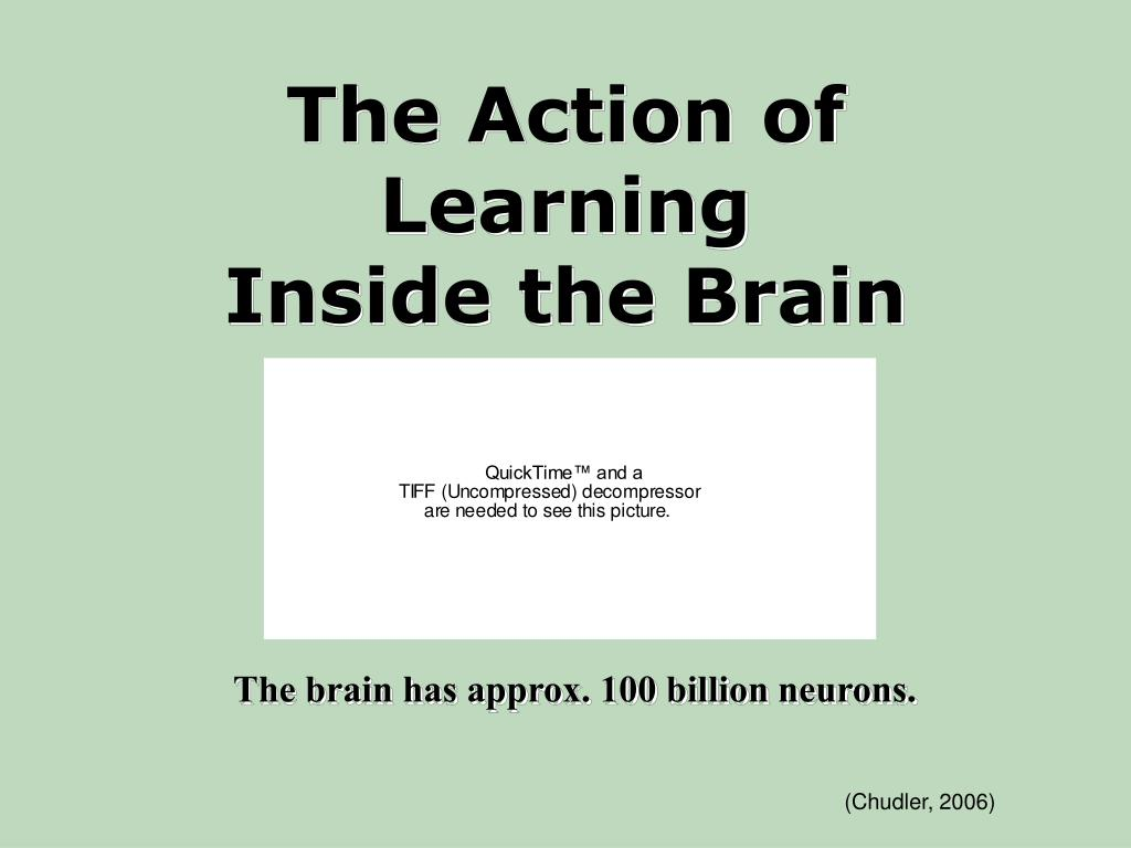 The Action of Learning