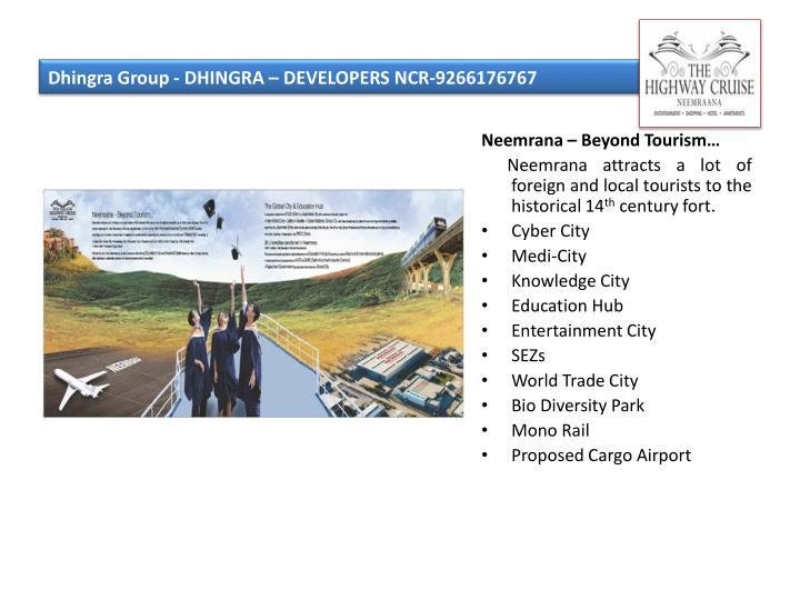 Dhingra group dhingra developers ncr 92661767673