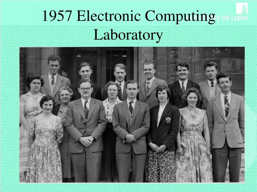 1957 Electronic Computing Laboratory
