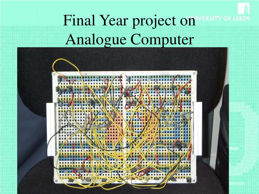 Final Year project on
