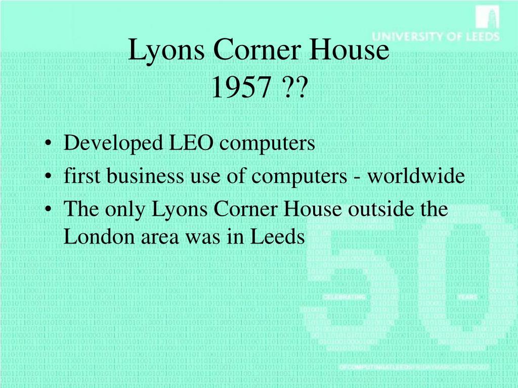 Lyons Corner House