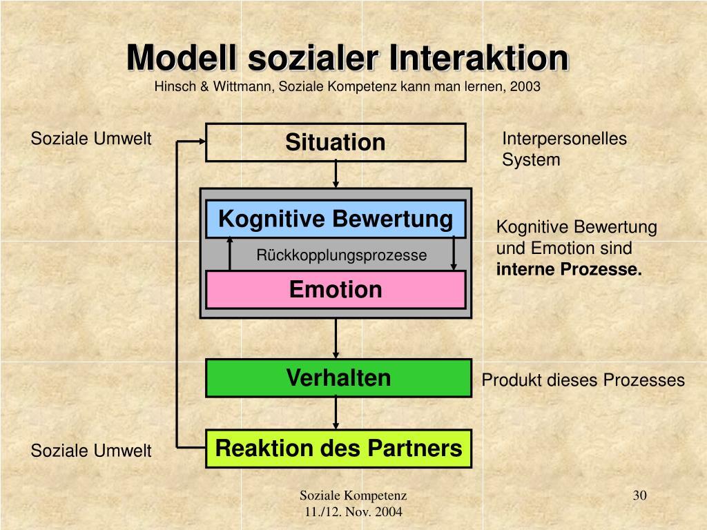 Modell sozialer Interaktion