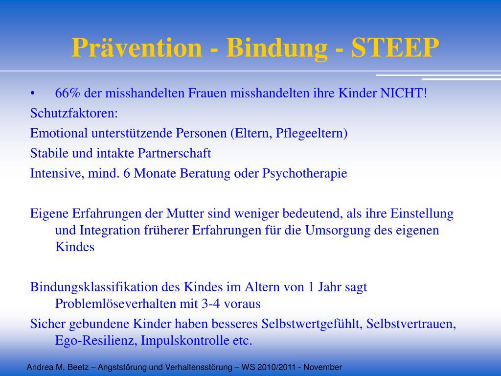 Prävention - Bindung - STEEP