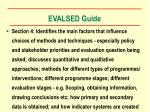 evalsed guide11