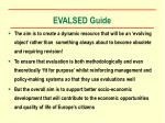 evalsed guide18