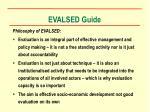 evalsed guide3