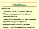 evalsed guide4