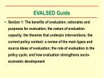 evalsed guide8