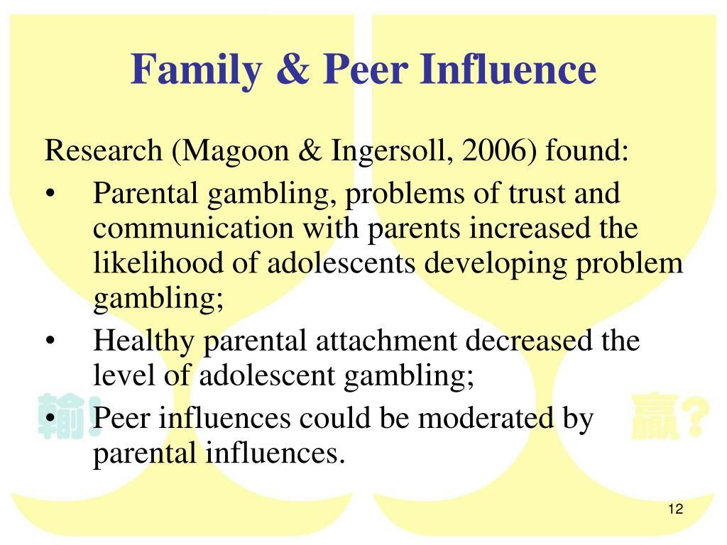 influence of peers