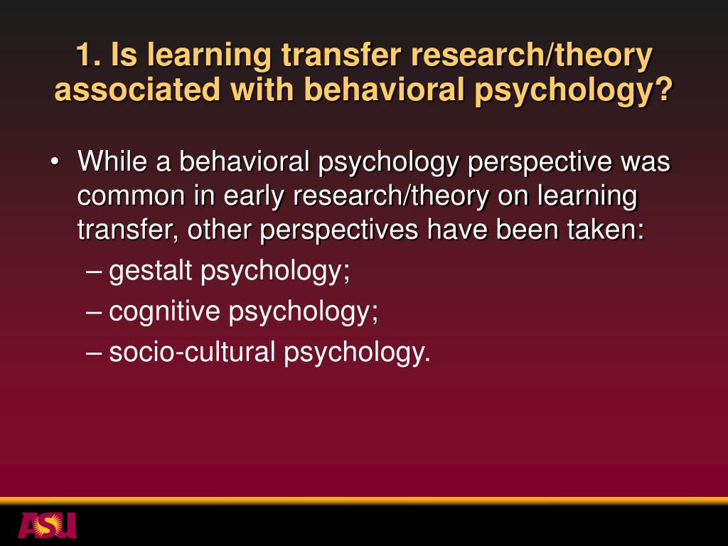 The Psychology of Learning and Motivation. Advances in Research and Theory -