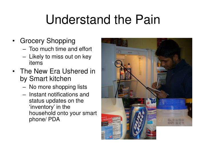 Understand the pain