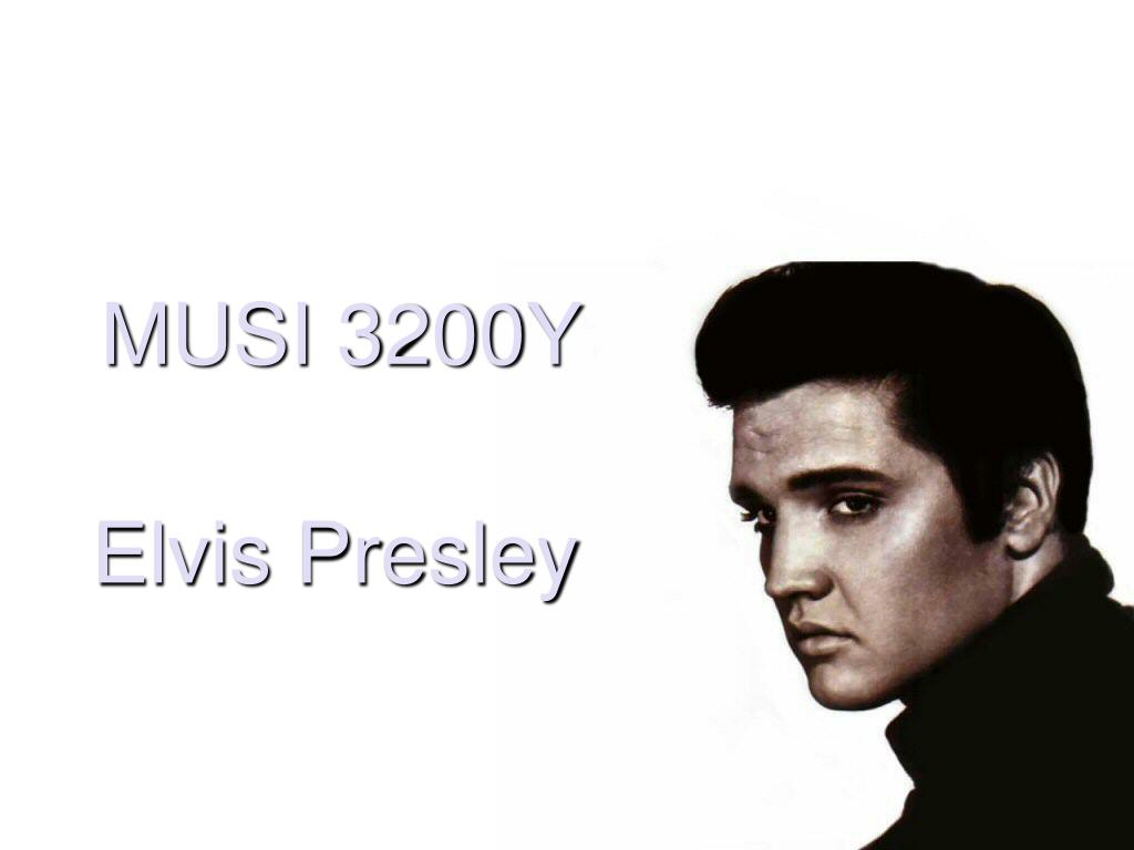 Ppt Elvis Presley Powerpoint Presentation Free Download Id 321511