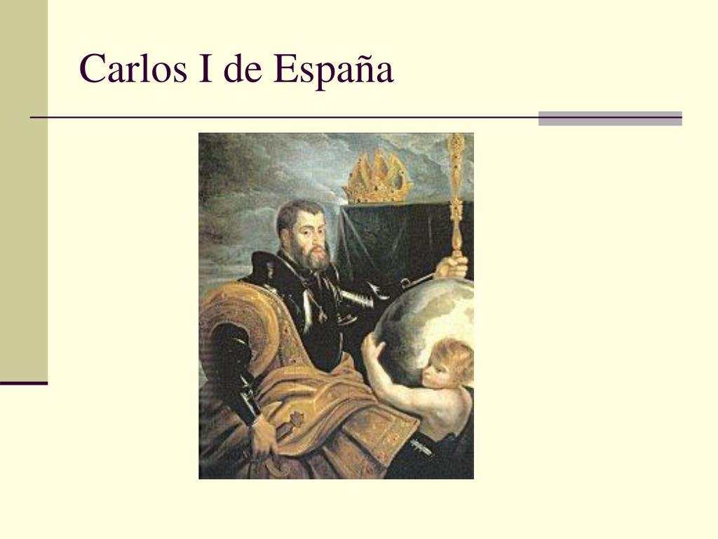 Carlos I de Espa