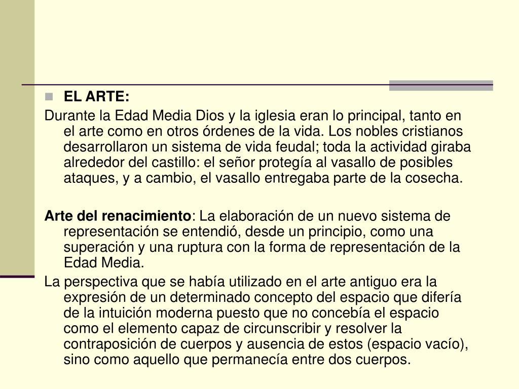 EL ARTE: