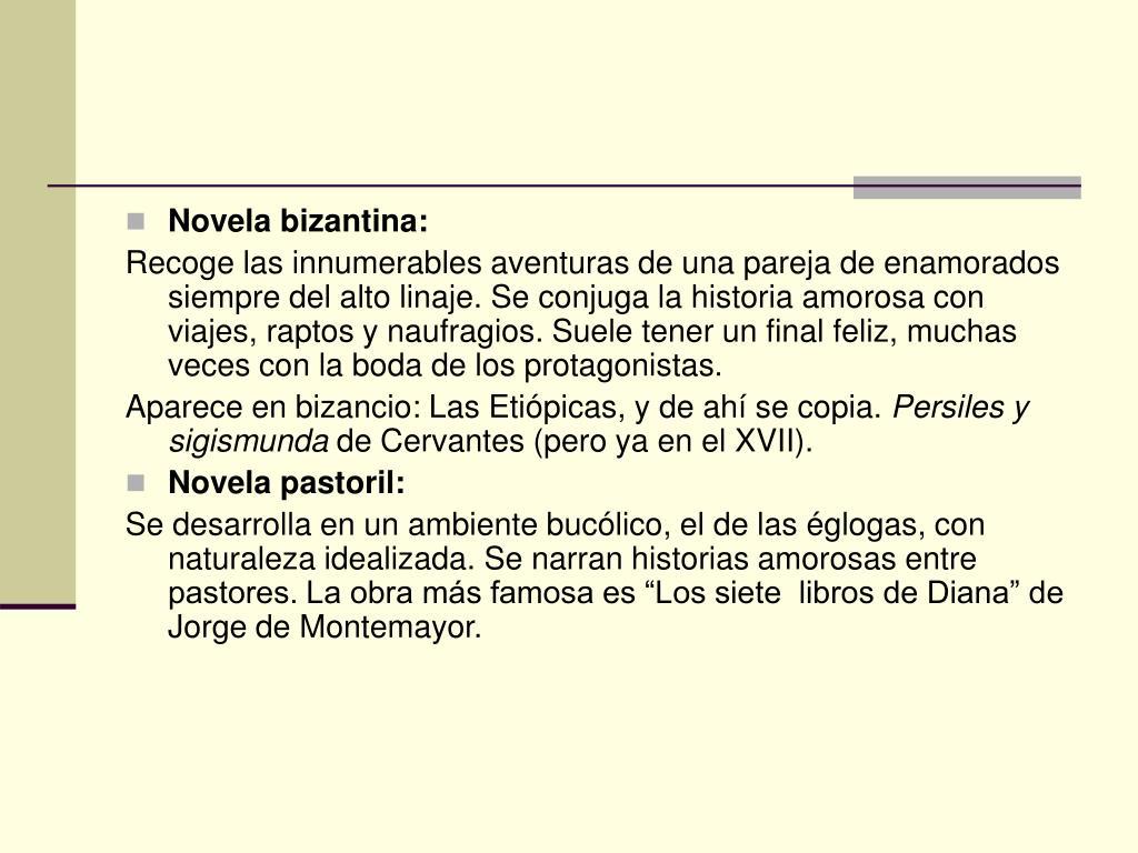 Novela bizantina: