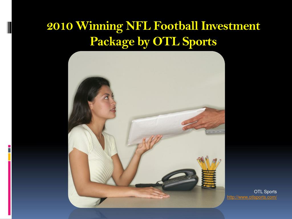 2010 winning nfl football investment package by otl sports l.