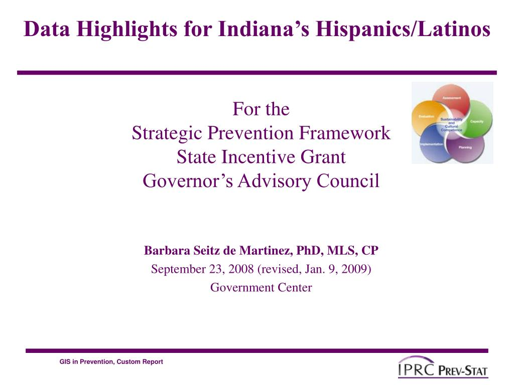 for the strategic prevention framework state incentive grant governor s advisory council l.