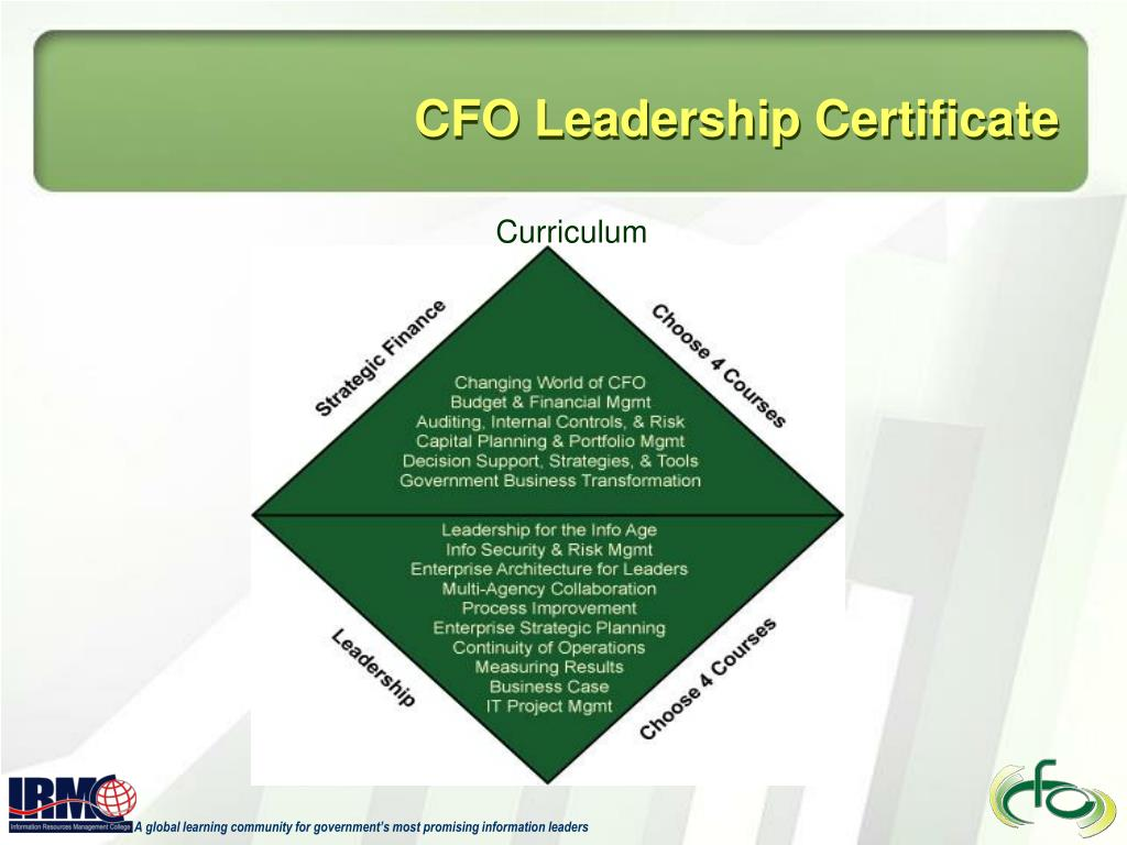 CFO Leadership Certificate